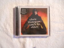 """Chris Thompson """"Won't lie down"""" 2001 cd AOR With Mike Slammer New Sealed"""