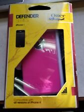OtterBox Defender Hard Case w/Holster Belt Clip for iPhone 4 iPhone 4s pink
