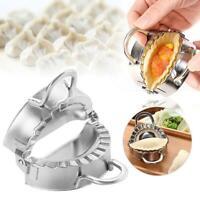 Edelstahl Dumpling Maker Mold oder Wraper Dough Presser Küchenhelfer Neu