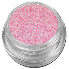 Decorazioni glitter rosa per unghie