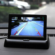 "Car 4.3"" Foldable LCD Rear View Monitor&Reverse Parking Camera With Radar Sensor"
