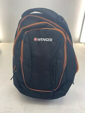 New Wenger by SwissGear Backpack - Black and Orange
