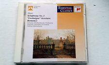 ELGAR SYMPHONY NO.1 , COCKAIGNE OVERTURE & ROMANCE LONDON PHIL SONY CD