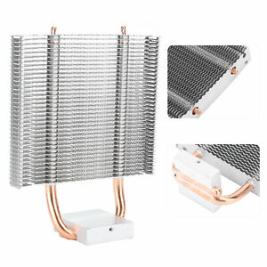 2Heat Pipe Chipset Cooling Fan Motherboard Cooler Heatsink Fr Desktop Cooler ASN