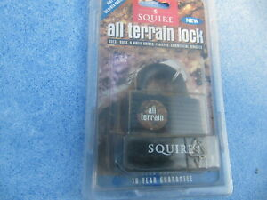 squire dirt & weather protected all terrain padlock