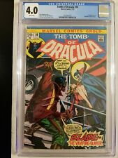 TOMB OF DRACULA  # 10 CGC 4.0 KEY 1st APPEARANCE OF BLADE! MARVEL COMIC BOOK!