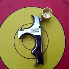 Archery Trigger Caliper Release Aid Buckle Gear Grip Steel Recurve Compound Bow