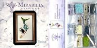 Mirabilia Cross Stitch Chart with Embellishment Pack MEDITERRANEAN MERMAID #102
