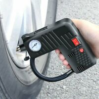 Digital 12V Smart Car Air Compressor Pump Portable Handheld Car Tire Inflator fj