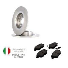 Kit 2 Dischi Freno + Pastiglie Anteriori Pieni Fiat Grande Punto Evo 257 mm