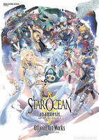 DHL) Star Ocean anamnesis Official Art Works Book Square Enix Game Illustrations