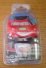 Disney Pixar Cars LCD Watch with 10 Image Projector In Package