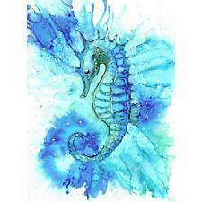 Seahorse 5D DIY Full Drill Diamond Painting Cartoon Embroidery Kits Home Mural
