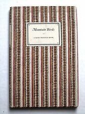Mountain Birds. King Penguin Book 67. 1952 1st hc dj color plates Ornithology