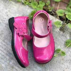 Pink Patent Mary Jane Dressy Shoes Cherokee 7
