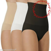 Seamfree Slimming Briefs Firm Control Tummy & Bum High Waist Knickers Shapewear