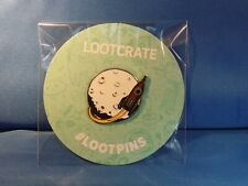 Collectible Lootcrate Cosmic Pin Rocket Moon Spaceship Lootpin New in Package
