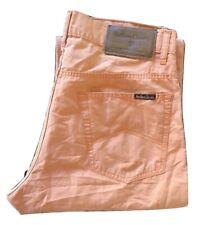 Pantaloni da uomo Marlboro Classics Pantalone Misto Lino Leggeri Estivi W34 L34