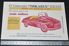 BUVARD 1950 CAFE MOKAREX EPINAY SUR SEINE CONCOURS VOITURE ENFANT