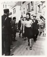WORLD WAR II ~ FRENCH WOMEN COLLABORATORS?  - 1945
