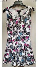 Skullrose Printed Dress - Small