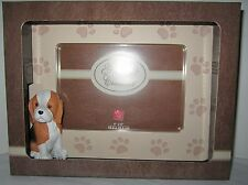 Yomiko Dog Photo Picture Frame Russ Berrie 4x6 Dimensional Beagle