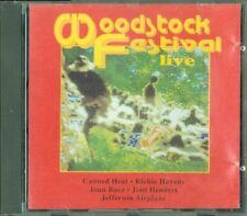 Woodstock Festival - Canned Heat/Jimi Hendrix/Jefferson Airplane Cd Perfetto