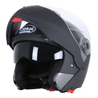Motorcycle Helmet Flip Up Modular Helmet Full Face Dual Visor Motocross Cruiser