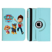 Paw Patrol 01 Rotating Case Cover Stand For Apple iPad