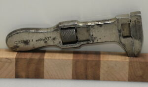"""Vintage 5"""" J.C. Speirs & Co. Adjustable Bicycle / Nut Wrench (INV I996)"""