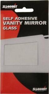 Car Vanity Mirror, Self Adhesive SUMMIT RV10 for Sun Visor Interior