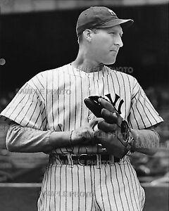 RED RUFFIN New York Yankees HOF 8X10 Photo