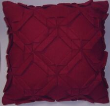LINEN HOUSE Harlequin Wool RED Cushion Cover 43x43cm Mothers Day