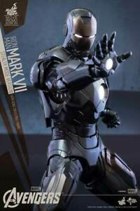 HOT TOYS IRON MAN MARK VII STEALTH MODE VER MMS 282 1/6 FIGURE MISB / NO RESERVE