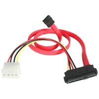 StarTech SAS729PW18 18in SAS 29 Pin to SATA Cable with LP4 Power -
