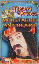 Desert Prince Beard & Moustache Sheik Arabian Sultan Halloween Costume Accessory