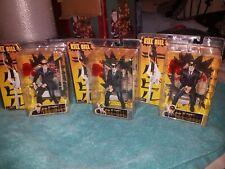 Kill Bill Action Figures Set of 3 The Crazy 88 Fighters Bnib Quentin Tarantino