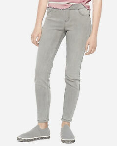 Justice Size 14 Plus Girl's Color Pull On Jean Leggings in Grey New with Tags