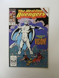 West Coast Avengers #45 1st appearance of White Vision FN+ condition