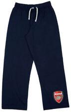 Pijamas y batas pantalón largo azul de 100% algodón para niño de 2 a 16 años