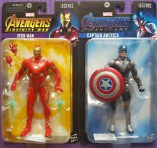 Marvel Legends - Iron Man - Captain America - End Game - Infinity War - New