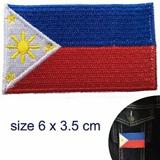 Philippines flag iron on patch Philippine flag Pambansang Watawat patches