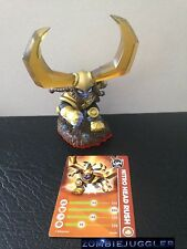 SKYLANDERS NITRO HEAD RUSH & CARD Trap Team Skylander FREE POST