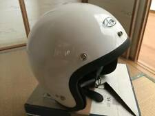 ARAI GENUINE OEM S 70 WHITE OPEN FACE HELMET L SIZE