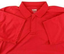BLACKHAWK! Warrior Wear Mens XL Short Sleeve Performance Polo Shirt Red