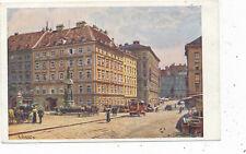 Kunst-Karte Ernst Graner, aus Wien, Freiung   (L7)