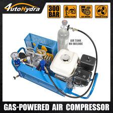 55hp Gas Powered 35cfm 4500 Psi Scuba Filling High Pressure Air Compressor