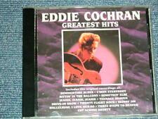 EDDIE COCHRAN US AMERICA Press 1990 NM CD GREATEST HITS  Ship From Japan