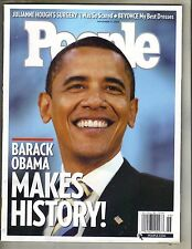 BARACK OBAMA People Magazine 11/12/08 JULIANNE HOUGH BEYONCE KNOWLES