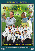 Ryder Cup 2004 - The 35th Ryder Cup (DVD, 2006)